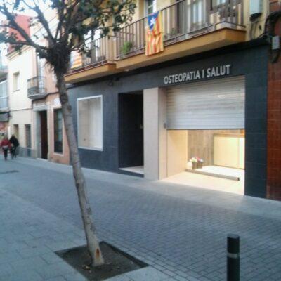 Reforma de local per a centre d'osteopatia al carrer Sant Joaquim, núm. 32 de Mataró