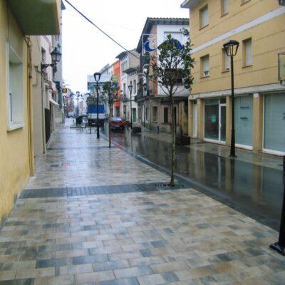 Remodelació carrer Major  carrer Anselm Clavé Llinars del Vallès